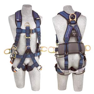1111550 dbi sala exofit xp fall arrest rescue suspension harness sm fall protection harness at mifinder.co