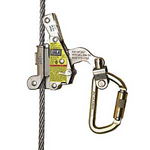 ladsaf dbi sala 120' lad saf flexible cable ladder safety system fall